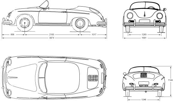 Rch 356 Wide 1 2332cc Replica Handmade Car Manufacture